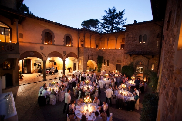 Tuscany wedding of Genevieve and Jean Paul