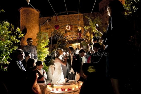 Catholic wedding in Tuscany and reception in a castle in Gaiole in Chianti