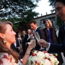 Outdoor wedding in an ancient Rocca