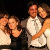Tammin Sursok wedding in Florence, Italy, August 2011