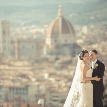 Wonderful wedding in Tuscany and Florence