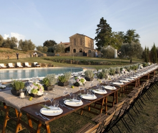 Al fresco country style weddings!