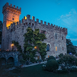 Matrimonio in un castello Toscano
