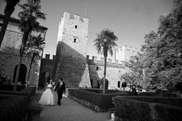 Beautiful and romantic southern Tuscan castle