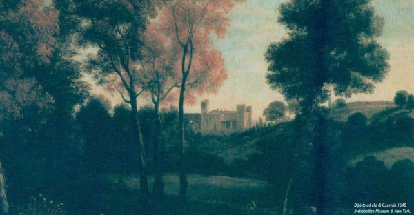 Oil on Canvas dated 15th century. The castle was already there: such a romantic idea for a wedding in Rome, Italy
