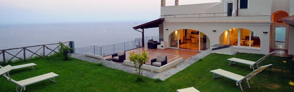 Luxury villa in Amalfi