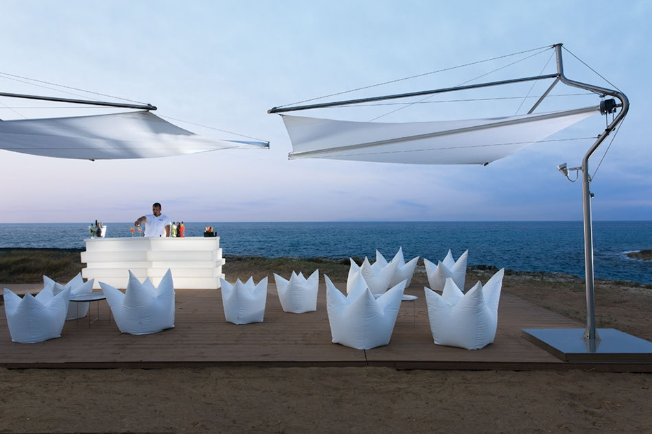 Large wedding resort by the sea