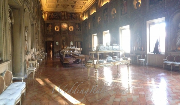 Grand exclusive palace for Italian weddings in Rome