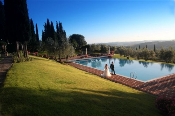 Tuscan Villa near Florence, Italy, Weddings in Tuscany