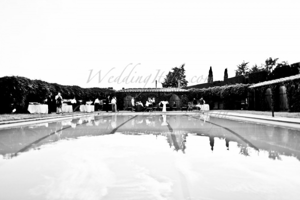 Wedding in a Beautiful villa in San Gimignano, Tuscany