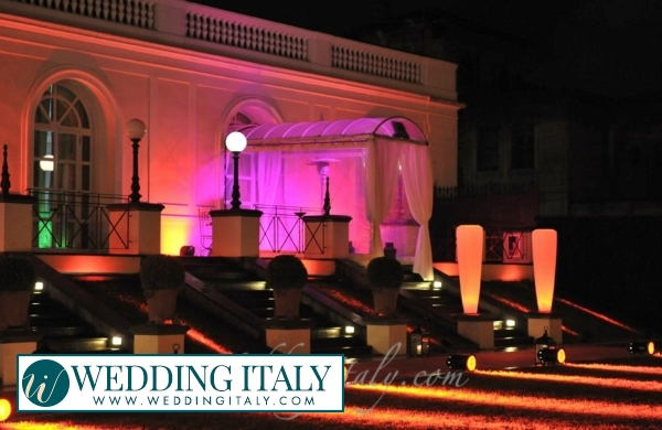 Villa overlooking Rome > Weddings in Rome