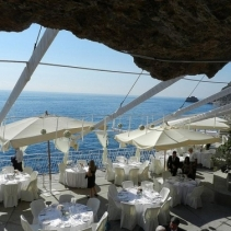 Sea club for weddings on the Amalfi coast