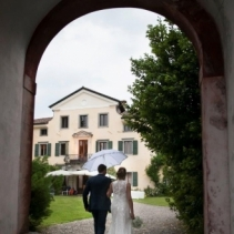 Romantic wedding villa in Friuli