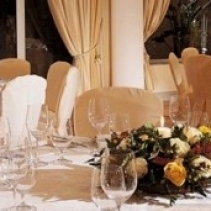 Romantic wedding restaurant