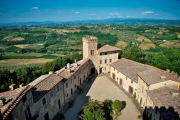 Castle Maria in Tuscany