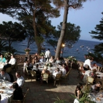 Exclusive venue by the beach in Sicily, Italy, for wedding receptions in Taormina
