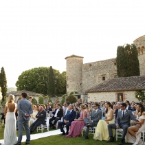 Imposing Tuscan castle - WeddingItaly