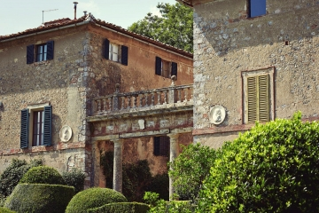 Tuscan Villa and Borgo