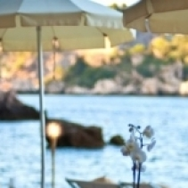 Sunset wedding venue in Taormina, Sicily, Italy