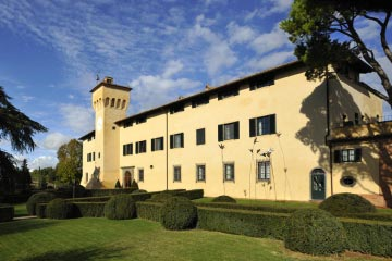 Elegant Castle in Chianti