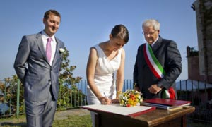 Civil Weddings in Ravello