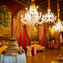 Baroque palace for weddings in Rome Italy