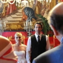 Civil wedding in Florence, Tuscany