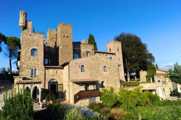 Amazing medieval castle in Umbria