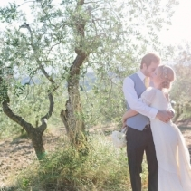 Wedding in a typical rustic fattoria in Tuscany