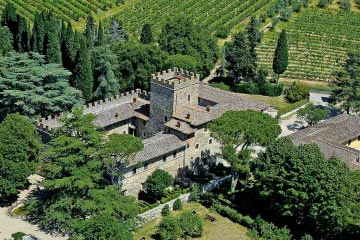 Castle in the Chianti Classico