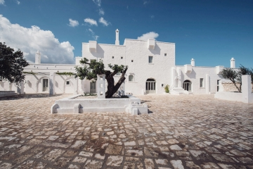 Typical Masseria in Ostuni