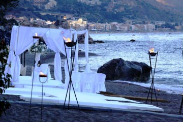 Beach Club in Taormina