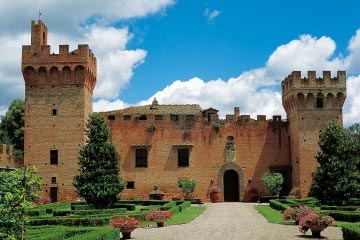 Castle in the Florentine Hills