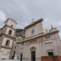 Catholic wedding in Positano