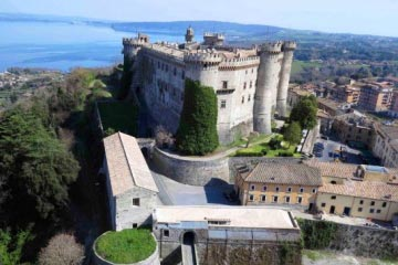 Bracciano: Tom Cruise's wedding Castle
