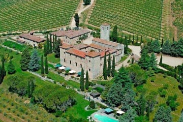 An exclusive Tuscan Castle