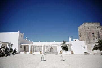 Villas for weddings in Puglia