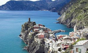 Symbolic Weddings in Vernazza