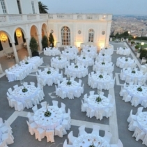 Villa for weddings overlooking Rome, Italy