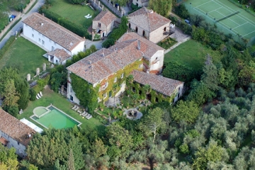 The charming villa near Lucca