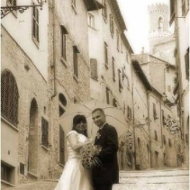 Civil weddings in Volterra, Tuscany