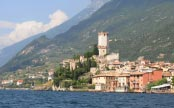 19. Castle with views of Lake Garda