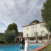 Wedding in a Country Inn relais near Florence in Tuscany