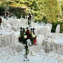 An exclusive wedding in a Tuscan castle