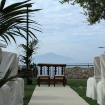 Lovely terrace in Sorrento